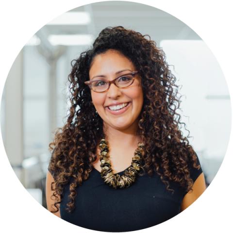 Headshot of Coralie D'Souza.