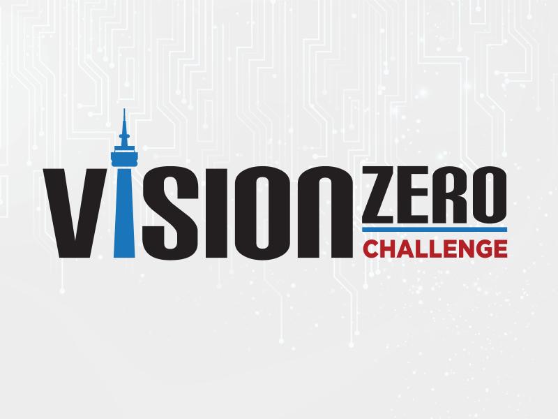 Vision Zero Challenge logo.