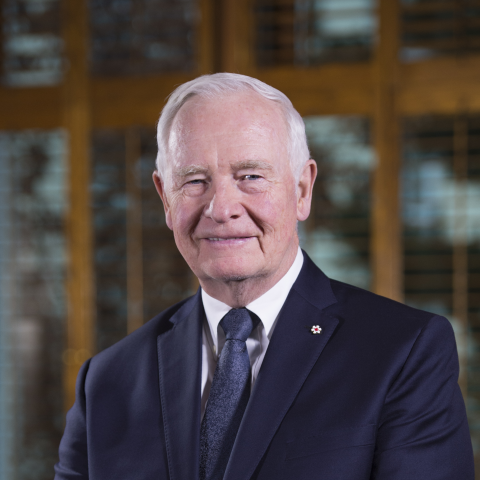 The Right Honourable David Johnston, C.C.